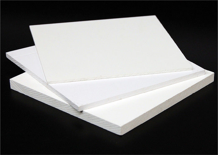 Customized Thickness PVC Foam Core Board Impact Resistance 1220 X 2440mm