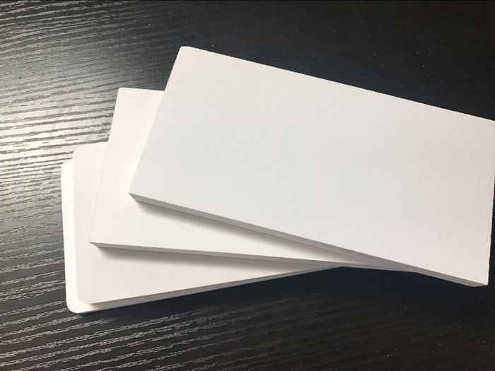 Plastic Fire Resistant Foam Board , Furniture Cabinets Expanded PVC Sheet